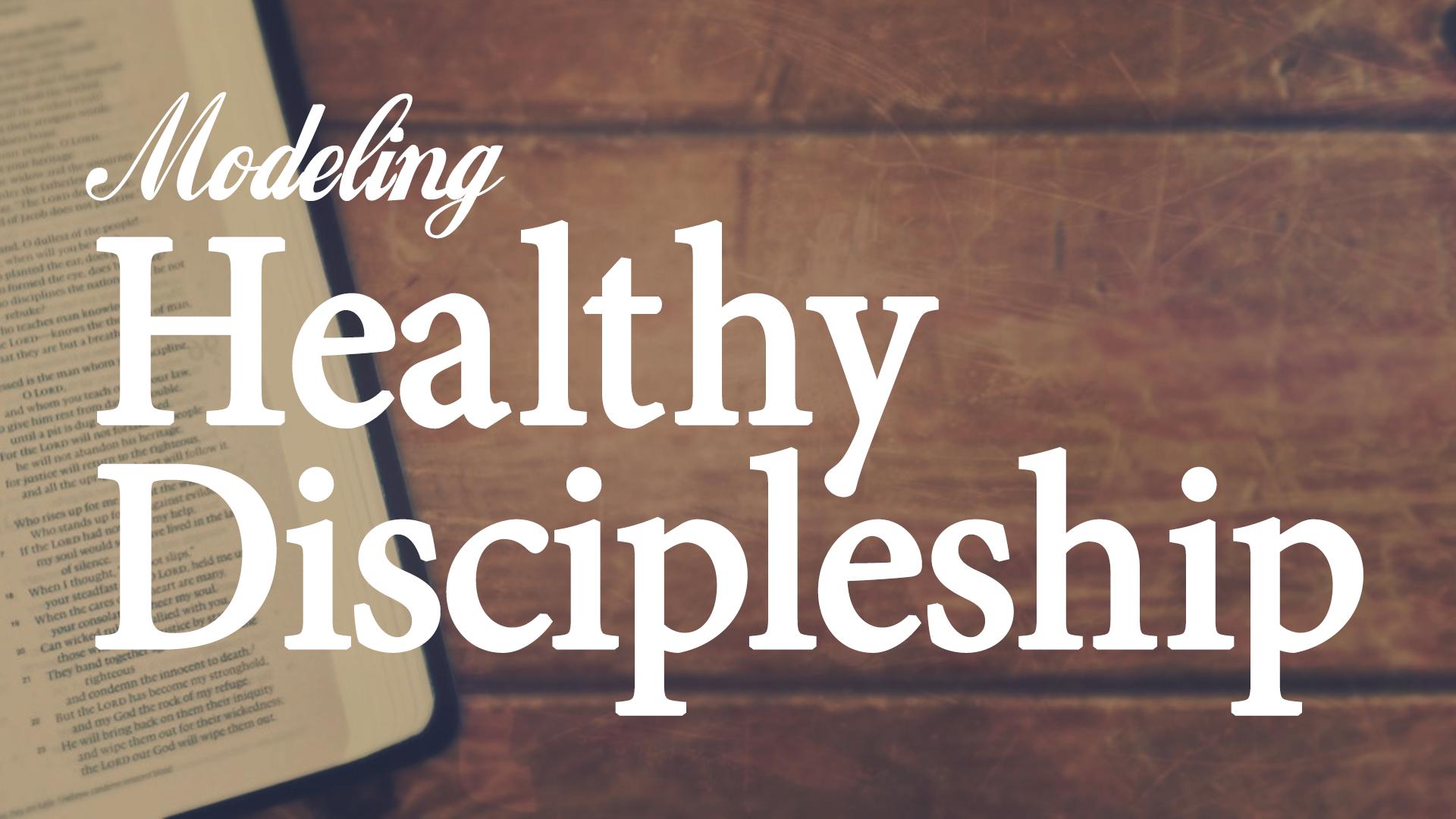 healthy discipleship